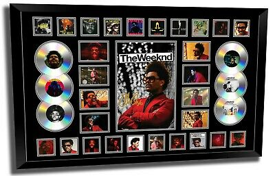 AU199.99 • Buy The Weeknd 2020 After Hours Starboy Photo Poster Signed Framed Memorabilia