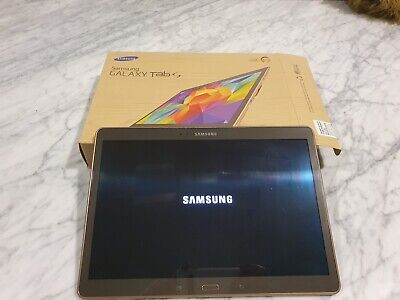 AU200 • Buy Samsung Galaxy Tab S SM-T805Y 16GB, Wi-Fi + 4G, 10.5 Inch - Rose Gold With Cover