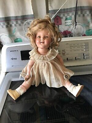 $61 • Buy Vintage Shirley Temple 18  Ideal Composition Doll