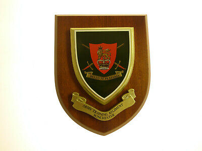 Army Training Regiment Winchester Regimental Mess Plaque • 19.99£