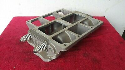 $330 • Buy Chevy Small Block Weiand 671 Blower Supercharger Intake Manifold # 7136