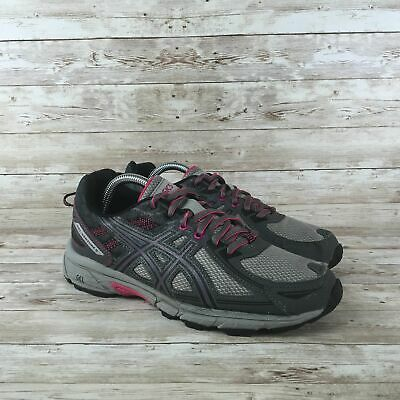 $ CDN30.87 • Buy Asics Gel Venture 6 Womens Size 9 Wide Gray Athletic Training Running Shoes