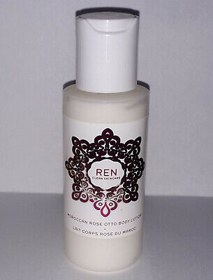 £14.95 • Buy REN CLEAN SKINCARE Moroccan Rose Otto Body Lotion ( 50ml ) Travel Size