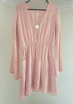AU41 • Buy Spell Sample Pink Blush Tunic Dress