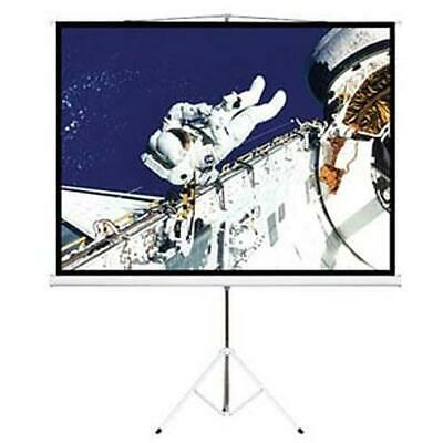 AU229.95 • Buy Brateck 65 InchTripod Portable Projector Screen Black Light Weight Durable