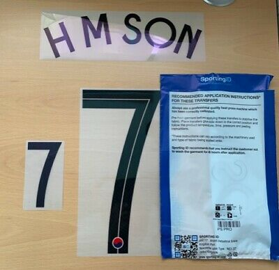 $22.50 • Buy Sporting ID Official Nike South Korea Home Authentic Nameset H M SON 7 2020/21