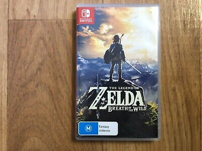 AU59 • Buy The Legend Of Zelda: Breath Of The Wild For Nintendo Switch