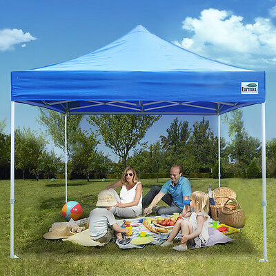 $179.95 • Buy Commercial Outdoor Ez Pop Up Canopy 10x10 Folding Patio Shade Wedding Party Tent