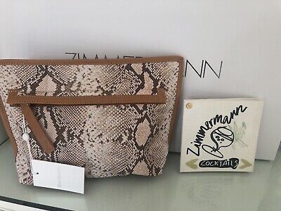 AU45 • Buy BNWT Zimmermann Printed Canvas Pouch (Current Stock)