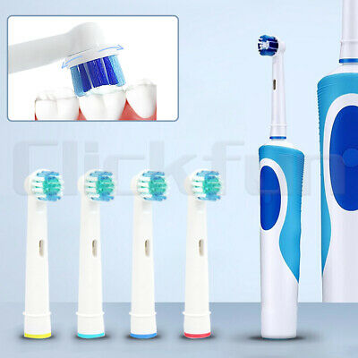 AU4.49 • Buy Electric Toothbrush Heads Oral B Compatible Replacement Brush Precision Clean