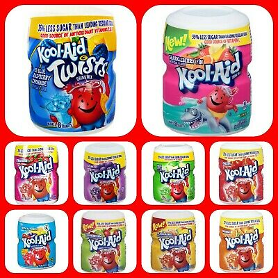 Kool Aid  Drink Mix 538g Tubs Variety Of  Flavors   • 6.49£