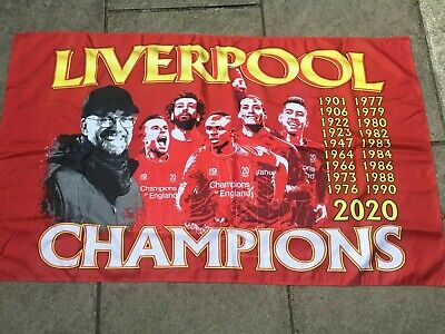 Liverpool League Winners Champions Of England Premier Flag 3x2ft  • 4.99£
