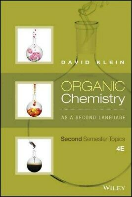 $43.88 • Buy Organic Chemistry As A Second Language : Second Semester Topics, Paperback By...