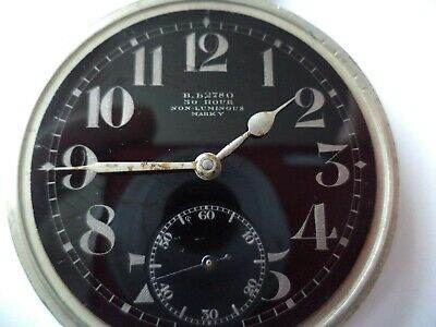 Air Ministry Ww 2 Omega  Pocket Watch -   Working  • 270£