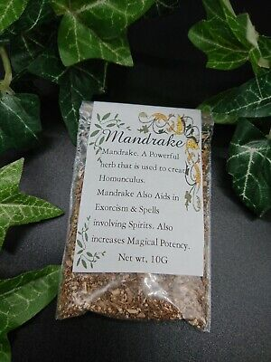 Mandrake Root Herb Spells Altar Supplies Pagan Wiccan Incense Witchcraft  • 2.85£