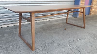 AU400 • Buy Clearance Sale ! NEW FRENCH INDUSTRIAL WOODEN DINING TABLE - T317 (240 X 100cm)