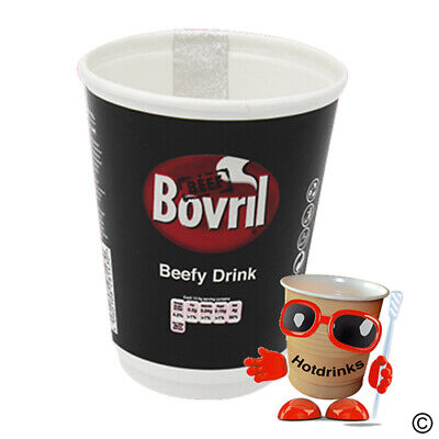 £61.95 • Buy Box Of 150 (15 X 10) Bovril 'Beefy' 2Go In Cup, Incup Drinks, 12oz, Foil Sealed