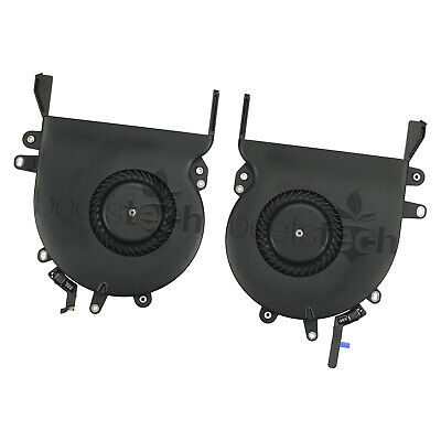 $23.75 • Buy LEFT & RIGHT COOLING FANS - MacBook Pro 15  A1707 2016,2017, A1990 2018,2019