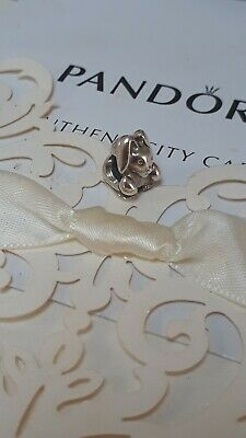 AU0.99 • Buy Beautiful Authentic Pandora Sterling Silver Bunny Charm ALEs925