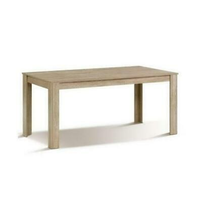 AU369.95 • Buy Dining Table 6 To 8 Seater Wooden Kitchen Tables Oak 160 Cm Cafe