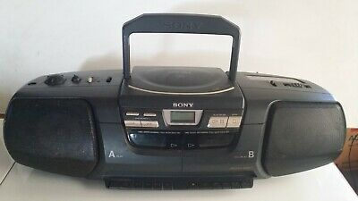 $17.45 • Buy 1996  Sony CFD-222 Radio, CD & Cassette Recorder/Player.