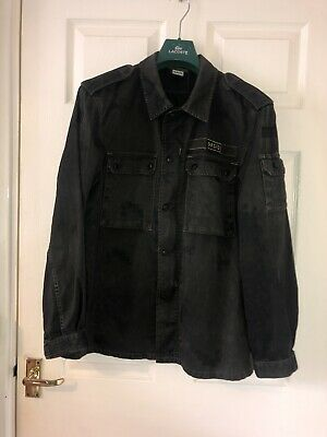 £159.99 • Buy Oasis Band Jacket Rare Noel Liam Gallagher Overshirt Military Style Casuals 90s
