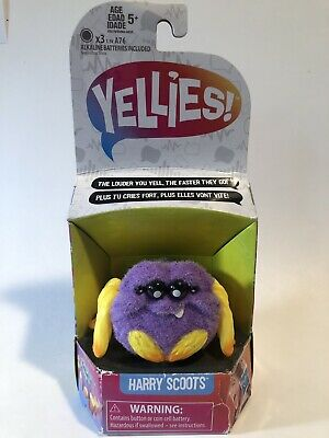 $7.99 • Buy Yellies! Harry Scoots; Voice-Activated Spider Pet