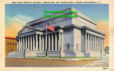 $11.12 • Buy R357145 M534. New Archives Building. Constitution And Pennsylvania Avenues. Wash
