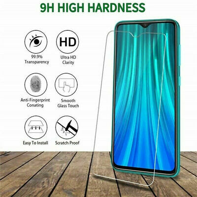 $3.19 • Buy 5X Tempered Glass Screen Protector For Xiaomi Redmi 8A 6A Note 5 6 7 8 9S 9 Pro
