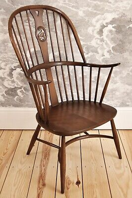 Vintage Retro 60's Style Ercol Ercol Windsor Chairmakers Fireside Armchair  • 525£