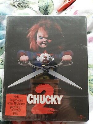 Chucky 2 - Child's Play 2  (1990) - Steelbook - Blu-ray - New & Sealed • 30£