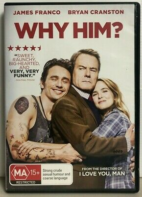 AU12.99 • Buy Why Him? - James Franco - Bryan Cranston - DVD - Free AUSPost With Tracking
