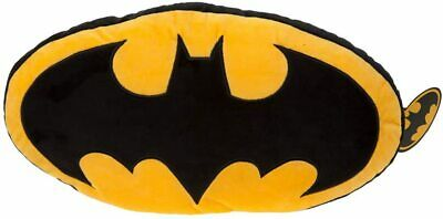 Batman 301000 Logo Cushion Large Officially Licensed, Multicolour, 46cm • 12.50£