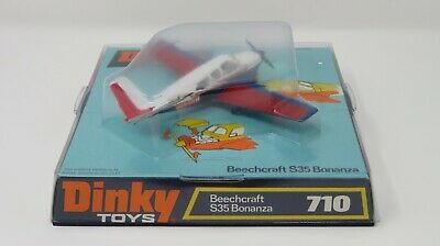 Vintage Dinky 710 Beechcraft S35 Bonanza - Mint And Boxed • 79.99£