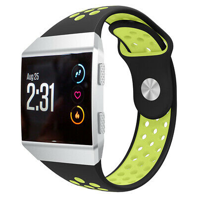 $ CDN11.85 • Buy For Fitbit Ionic Watch Strap Silicone Wrist Band Air Hole Accessories Small