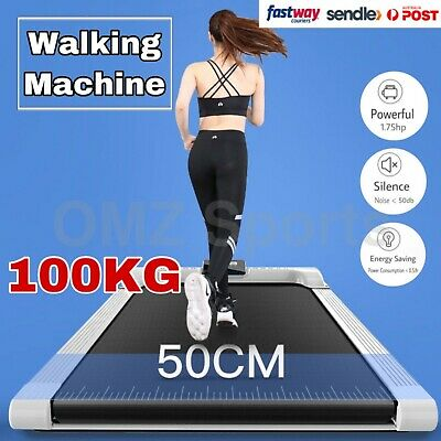 AU329 • Buy Electric Walking Pad Treadmill Home Office Exercise Machine Fitness LCD Display