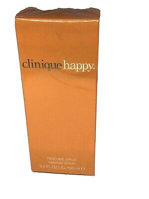 Clinique Happy 100ml EDP, Brand New, Sealed, Some Cellophane Damage, See Pics • 27.99£