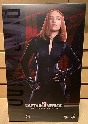 $299.95 • Buy Hot Toys Black Widow Captain America The Winter Soldier Mms239 MIB 1/6 Scale