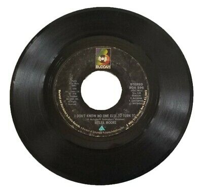 £2.75 • Buy Soul 45 Rpm - Melba Moore Buddah 596  I Don't Know No One Else To Turn To  55