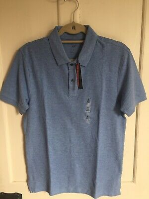 Marks And Spencer Pure Cotton Polo Shirt • 7.75£