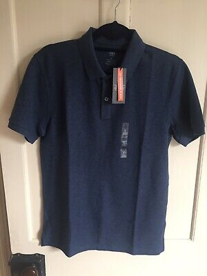 Marks And Spencer Pure Cotton Polo Shirt • 8£