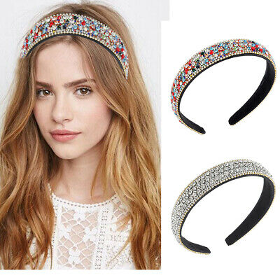 $ CDN5.89 • Buy Women's Crystal Headband Hairband Simple HairHoop Hair Accessories Wedding Ball