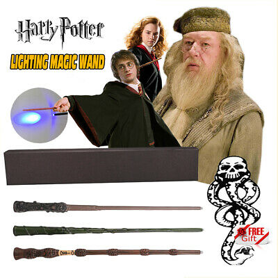 AU16.15 • Buy Harry Potter Magic LED Wand Hermione Dumbledore Collection Toy Gift Set Wizard
