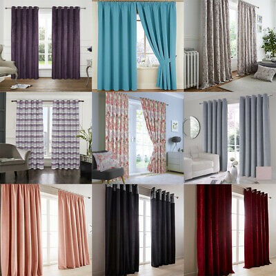 Cheap Curtains (Pair Of) Lucky Dip - Various Colours And Sizes - Slight Seconds • 12£
