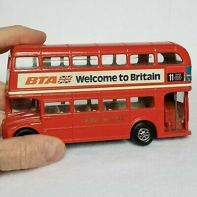 $ CDN27.55 • Buy BRITISH DOUBLE DECKER DIECAST RED BUS #11 MADE In GT BRITAIN By CORGI BTA, VTG