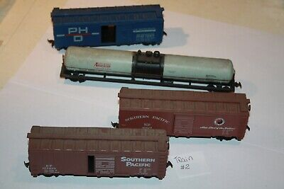 $ CDN20 • Buy HO Scale Train Freight Cars Lot Of 4 Southern Pacific SP Northern Pacific ...#2