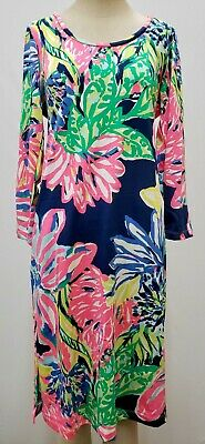 "$47.99 • Buy New Lilly Pulitzer Women's Kenzie Dress ""Travelers Palm,"" Small, Medium & Large"