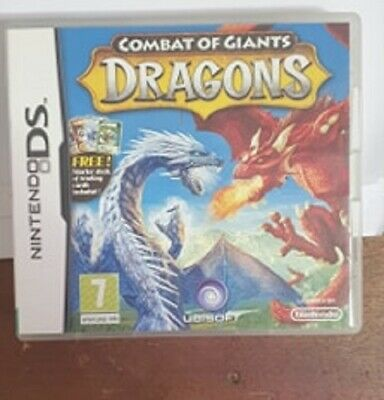 Combat Of Giants Dragons - Nintendo DS - Complete With Manual • 4.99£