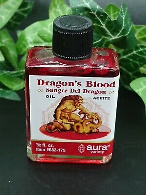 Dragon's Blood Magical Anointing Oil Altar Spells Pagan Wiccan Witchcraft • 5.10£