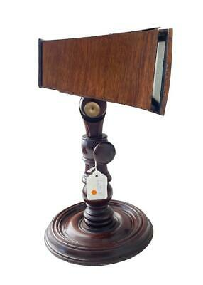 A Victorian Rosewood And Mahogany Brewster Pattern Table Top Stereoscopic Viewer • 325£